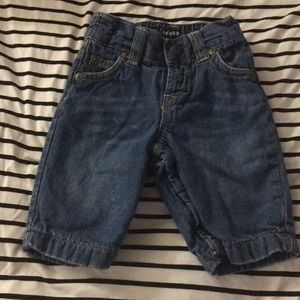 Baby gap jeans, size 0-3m